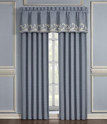 J. Queen New York Aurora Embroidery Window Treatment