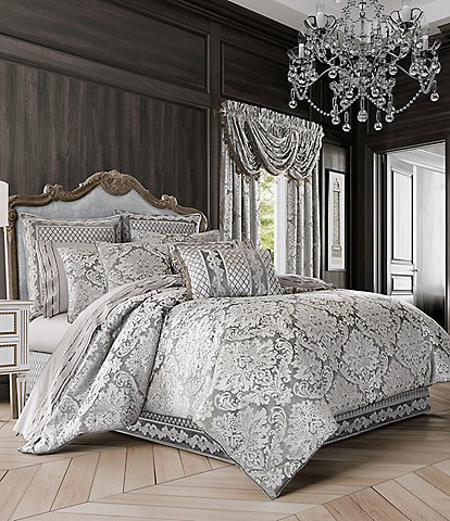 J. Queen New York Belaire Damask Velvet Comforter Set