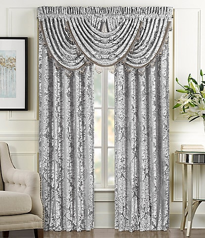 J. Queen New York Belaire Damask Window Treatments