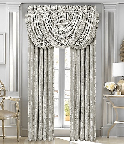 J. Queen New York Chandelier Window Treatments