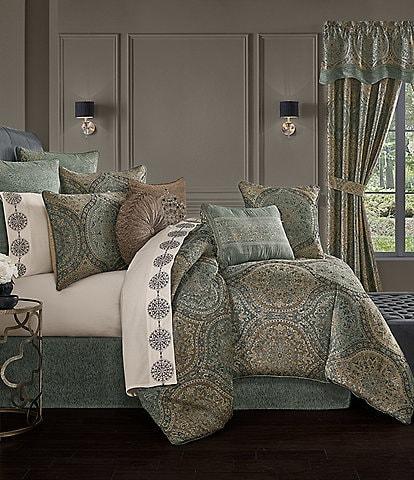 J. Queen New York Dorset Chenille Comforter Set