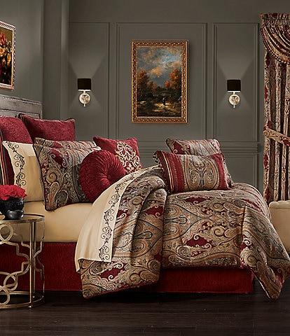J. Queen New York Garnet Comforter Set