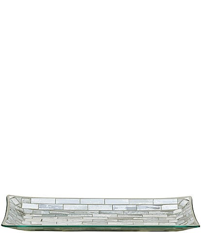 J. Queen New York Imogen Mosaic Tile Tray