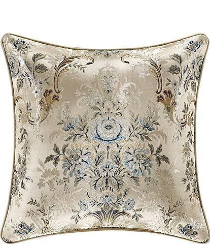 J. Queen New York Jacqueline Reversible Square Pillow