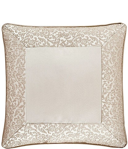 J. Queen New York La Scala Gold 18#double; Square Pillow