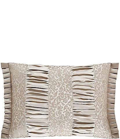 J. Queen New York La Scala Gold Boudoir Pillow