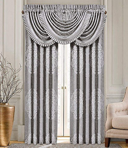 J. Queen New York La Scala Silver Window Treatments
