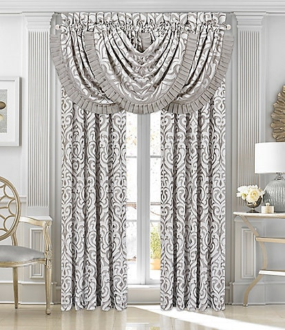 J. Queen New York Luxembourg Silver Window Treatments