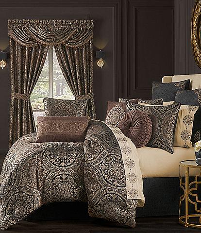 J. Queen New York Mahogany Chocolate Comforter Set
