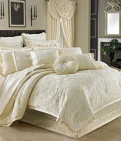 J. Queen New York Marquis Damask Comforter Set