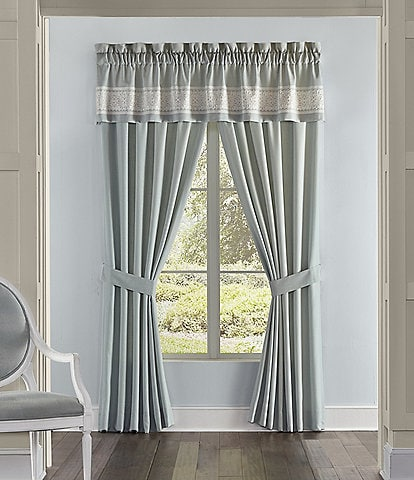 J. Queen New York Patricia Embroidered Window Treatment