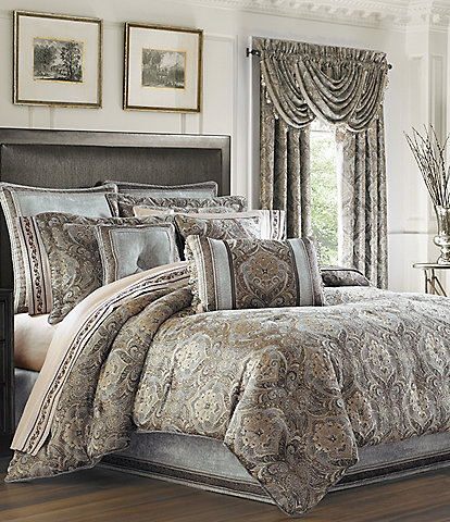J. Queen New York Provence Damask Chenille Comforter Set