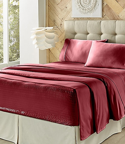 J. Queen New York Royal Fit 300-Thread Count Sheet Set