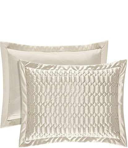 J. Queen New York Satinique Pillow Sham
