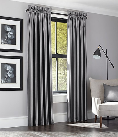 J. Queen New York Satinique Room Darkening Window Treatments