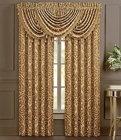 J. Queen New York Siciliy Gold Window Treatments