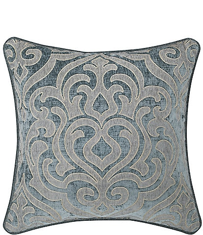 J. Queen New York Sicily Damask Square Pillow