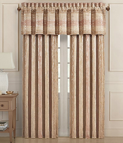 J. Queen New York Sunrise Coral Window Treatments