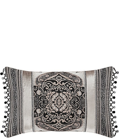 J. Queen New York Vera Fringed Boudoir Pillow