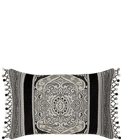 J. Queen New York Vera Jacquard Boudoir Pillow