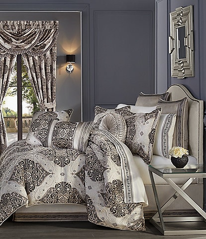 J. Queen New York Vera Jacquard Damask Comforter Set