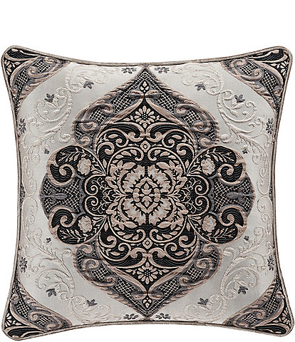 J. Queen New York Vera Woven Damask Square Pillow