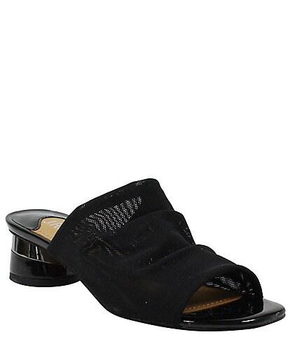 J. Renee Banan Stretch Slide Sandals