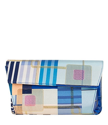 J. Renee Bilboa Geo Patchwork Clutch