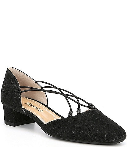 J. Renee Charolette Glitter Dress Pumps