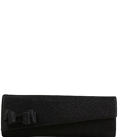 J. Renee CL075 Glitter Bow Clutch