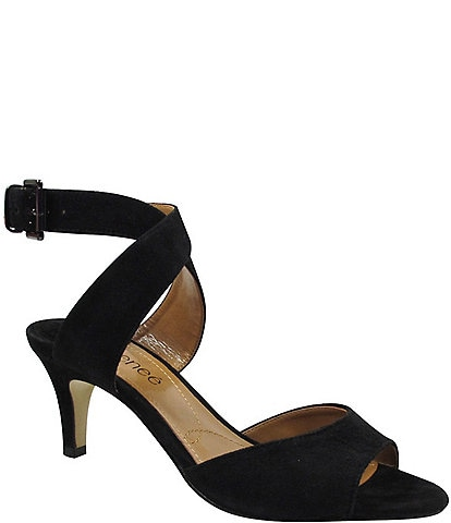 J. Renee Soncino Suede Dress Sandals