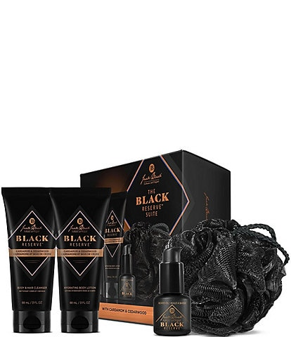 Jack Black 4-Piece Black Reserve Suite Set