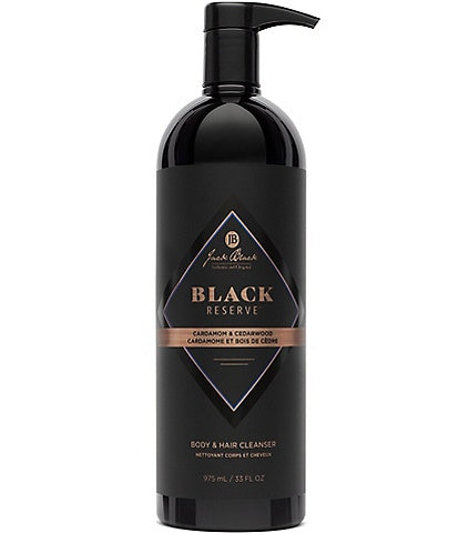 Jack Black Black Reserve Limited Edition Body & Hair Cleanser Wash