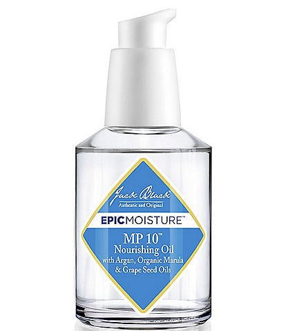 Jack Black Epic MP 10® Nourishing Oil with Argan, Organic Marula & Grape Seed Oils