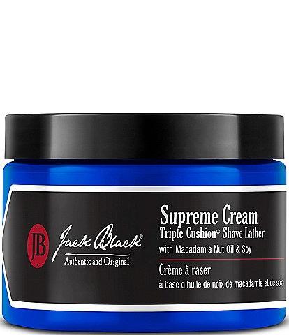 Jack Black Supreme Cream Triple Cushion® Shave Lather