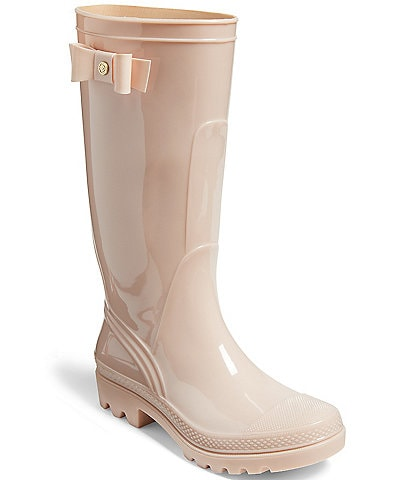 Jack Rogers Ruby Bow Detail Tall Rain Boots