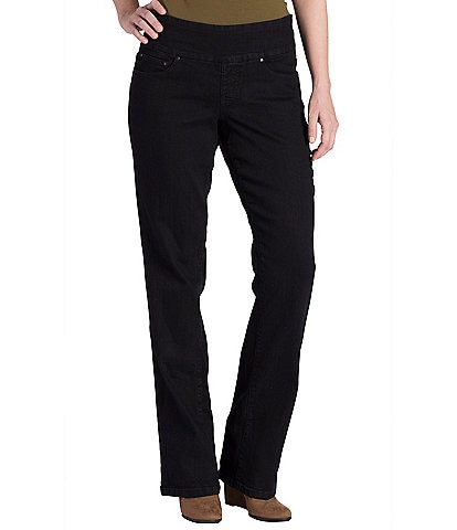 Jag Jeans Petite Size Paley Mid-Rise Classic Bootcut Jeans