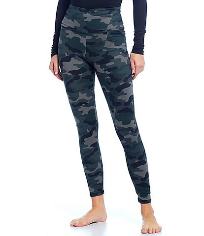 JALA Double Brushed Jersey Camouflage High Waist Lounge Leggings