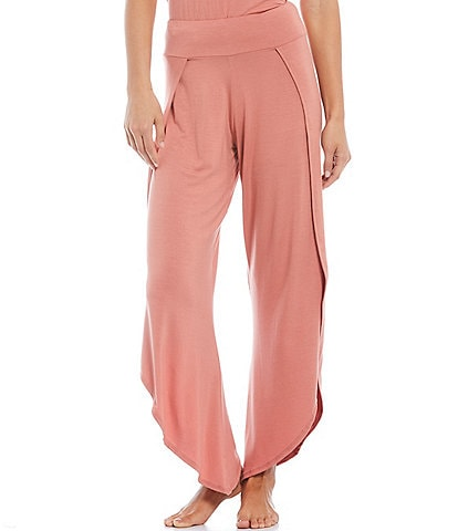 JALA Solid Jersey Knit Lounge Pull-On Pants