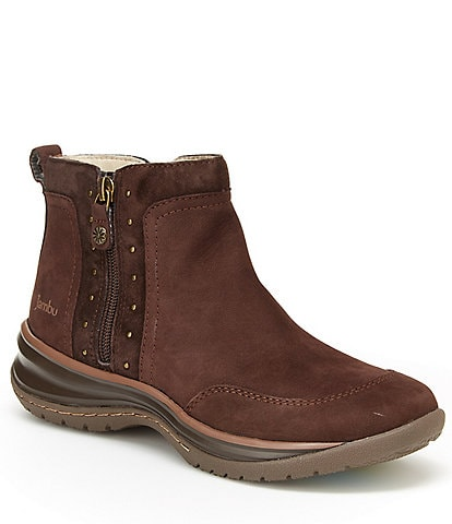 Jambu Camryn Water-Resistant Leather Chukka Booties