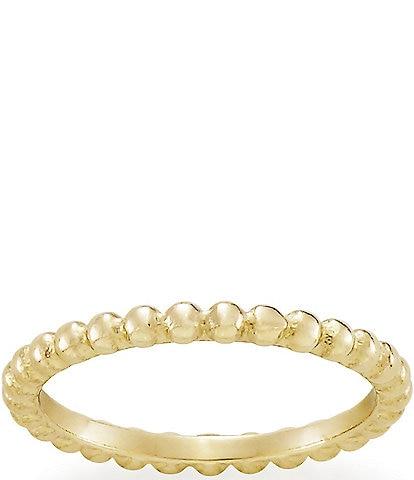 James Avery 14K Gold Beaded Ring