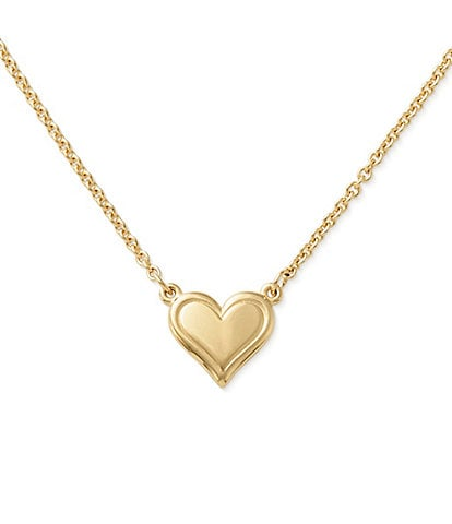 James Avery 14K Gold Delicate Heart Necklace