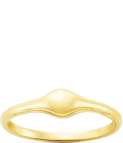 James Avery 14K Gold Droplet Stacker Ring