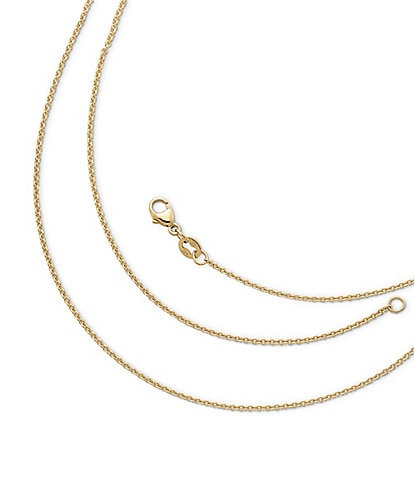 James Avery 14K Gold Fine Cable Chain