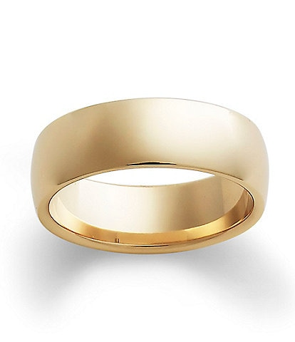 James Avery 14k Gold Wide Athena Band
