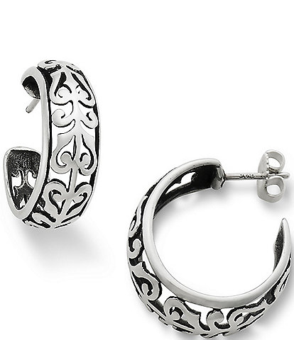 James Avery Adoree Hoop Earrings