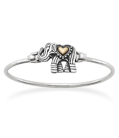 James Avery Adorned Elephant Hook-On Bracelet