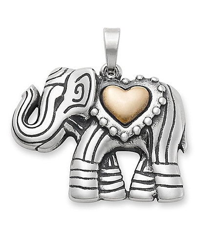 James Avery Adorned Elephant Pendant