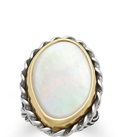 James Avery Alessandra Mother of Pearl Ring