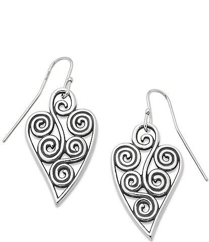 James Avery Athenian Heart Earrings